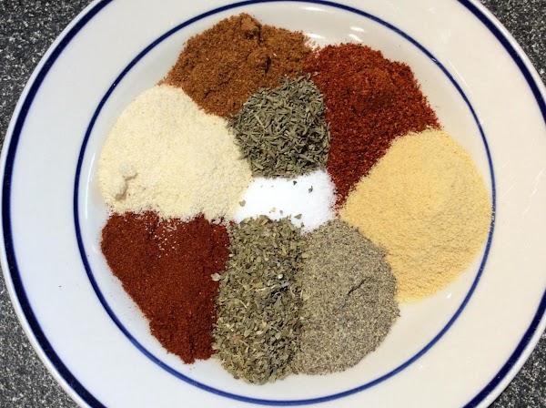 Mel's Cajun Spice Recipe