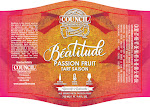 Council Beatitude Passion Fruit Tart Saison