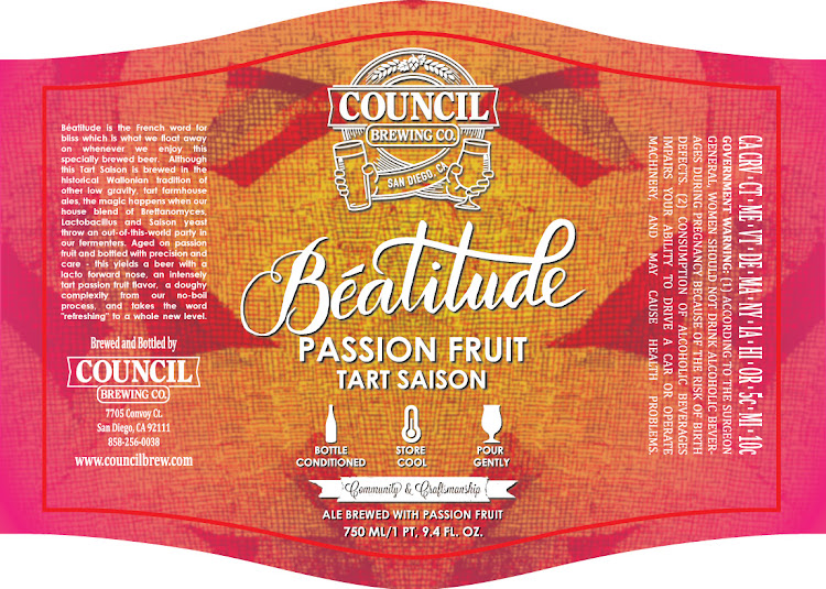 Logo of Council Beatitude Passion Fruit Tart Saison