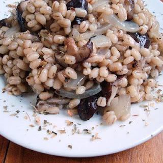 Pearl Barley Pilaf Mushrooms Recipes
