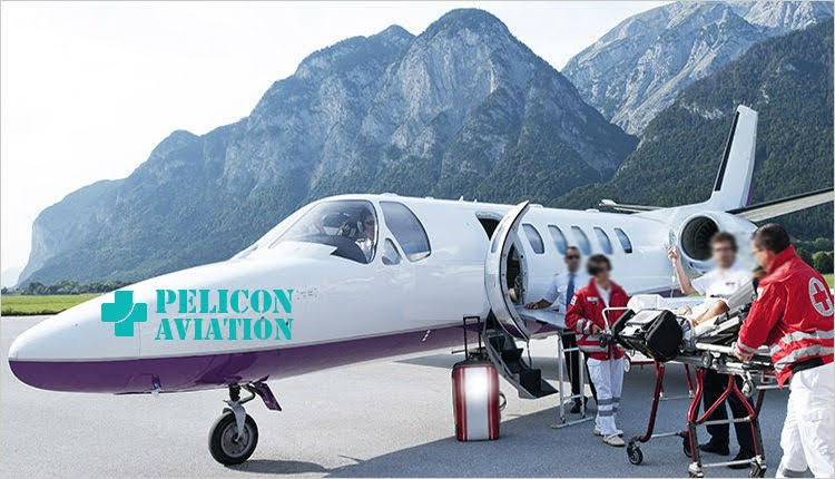 air ambulance provider in delhi