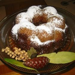 Old Fashioned Apple Cake.