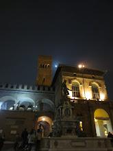 Photo: In the Piazza Maggiore in Bologna