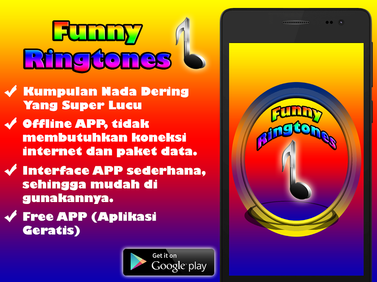 Ringtones Super Lucu Android Apps On Google Play