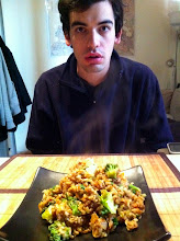 Photo: Discovering how easy (and cheap) it was to make fried rice at home.....