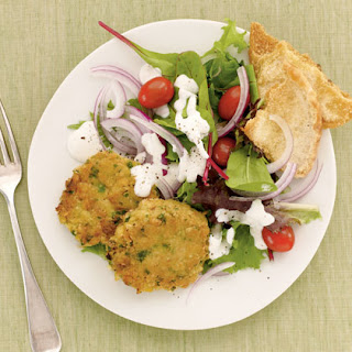 Mediterranean Chickpea Patties.