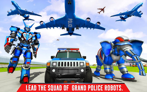Police Elephant Robot Game: Police Transport Games 1.0.1 18
