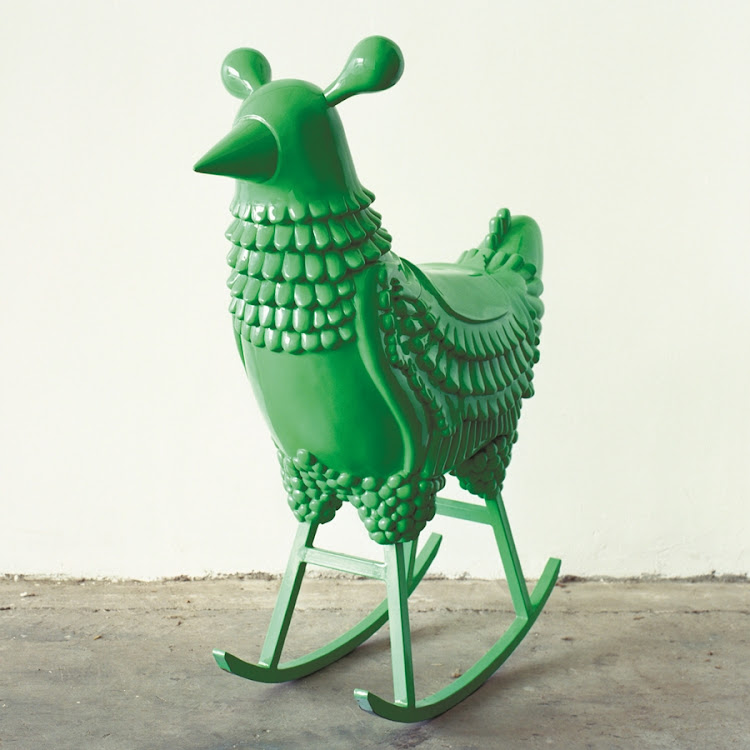 'Green Chicken' by Jamie Heyon.