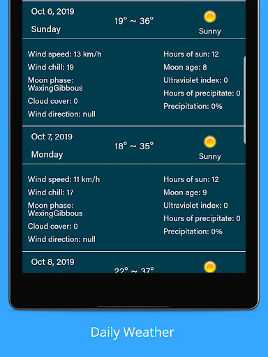 Weather Forecast - Weather Radar & Weather Widget screenshot 12