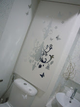 Photo: MBR Toilet - Mirror Silver Stickers