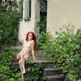 In ruins  by Todd Reynolds - Nudes & Boudoir Artistic Nude