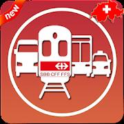SBB Timetable: SBB Route Timetable CFF metro train