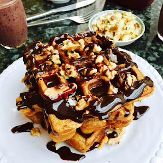 Totally Scrumptious Waffles.