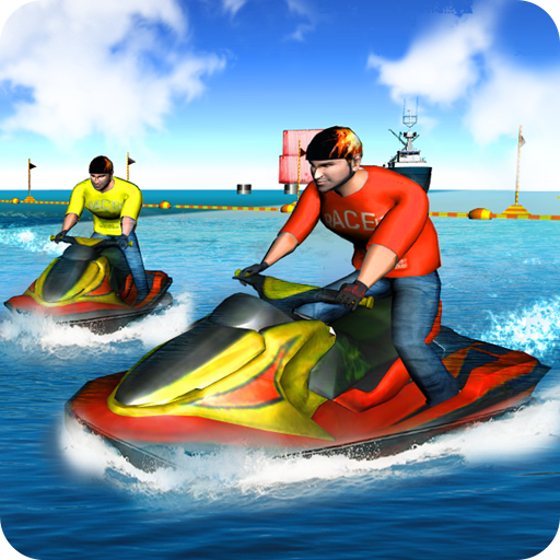 Real Power Boat Stunt Racing