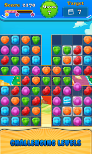 Booster Candy : Candy Jelly Crush Blast Mania 8