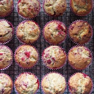 Raspberry Ricotta Muffins