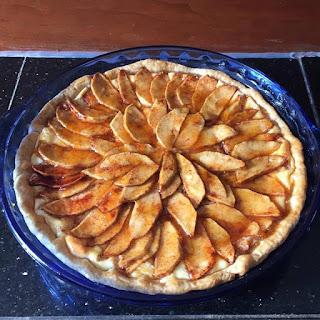 Apple Almond Cream Cheese Tart
