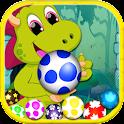 Dinosaur Egg Shot –Bubble Shot icon