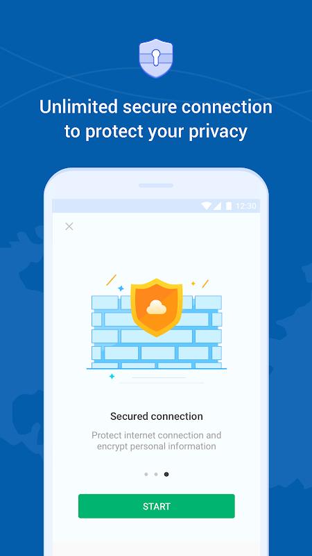 Hi VPN, Free VPN – Fast, Secure and Unlimited VPN screenshots