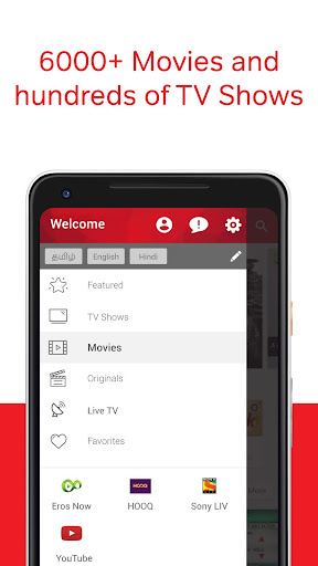 Airtel TV: Movies, TV series, Live TV 1.5.5.4 screenshots 6