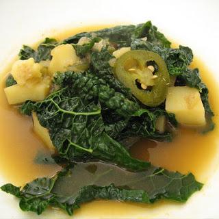 Dinosaur Kale & Jalapeno Soup