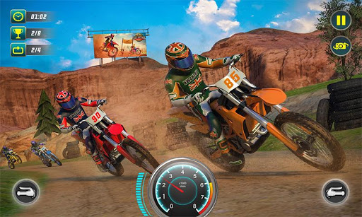 Xtreme Dirt Bike Racing Off-road Motorcycle Games modavailable screenshots 2
