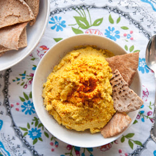 Moroccan-Inspired Hummus.
