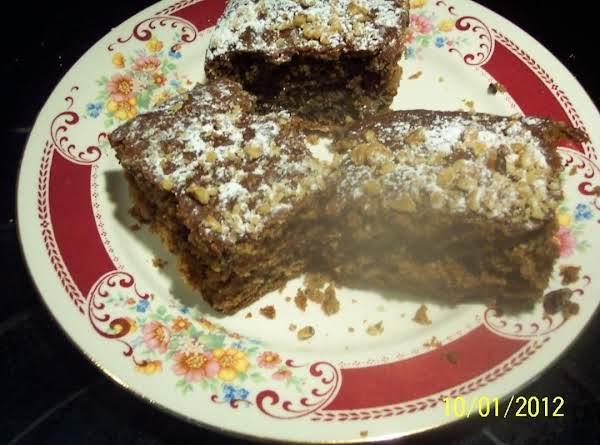 Wackey Cake Recipe
