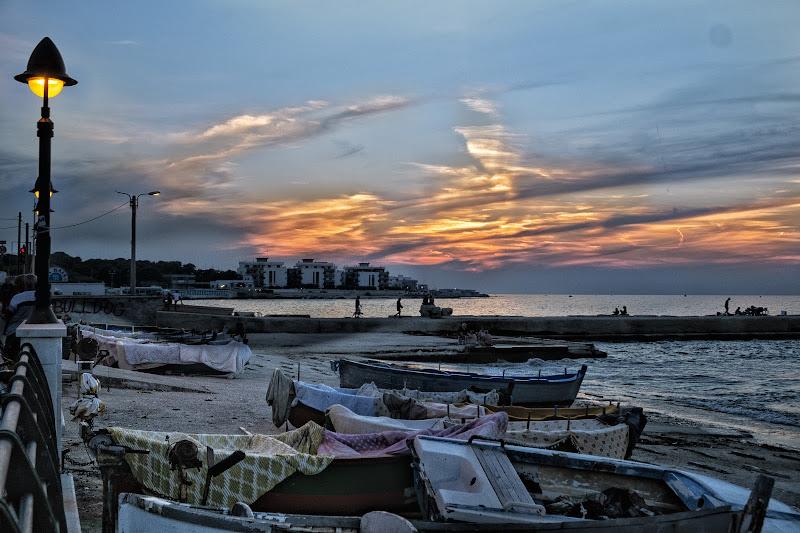Lungomare al tramonto di ped1_dom