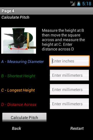Simple Pitch Calculator