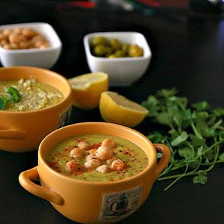 Chickpea Zucchini Soup