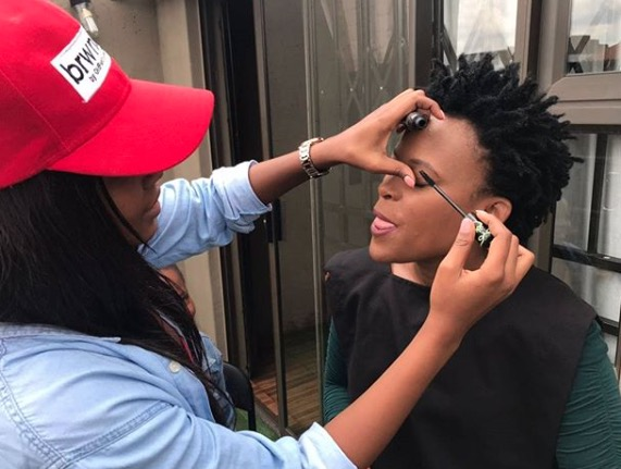 Behind-the-scenes on Zodwa's new TV show