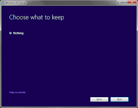 Photo: Installing Windows 8.1 from Windows 7  Feel free to make your personal choice...