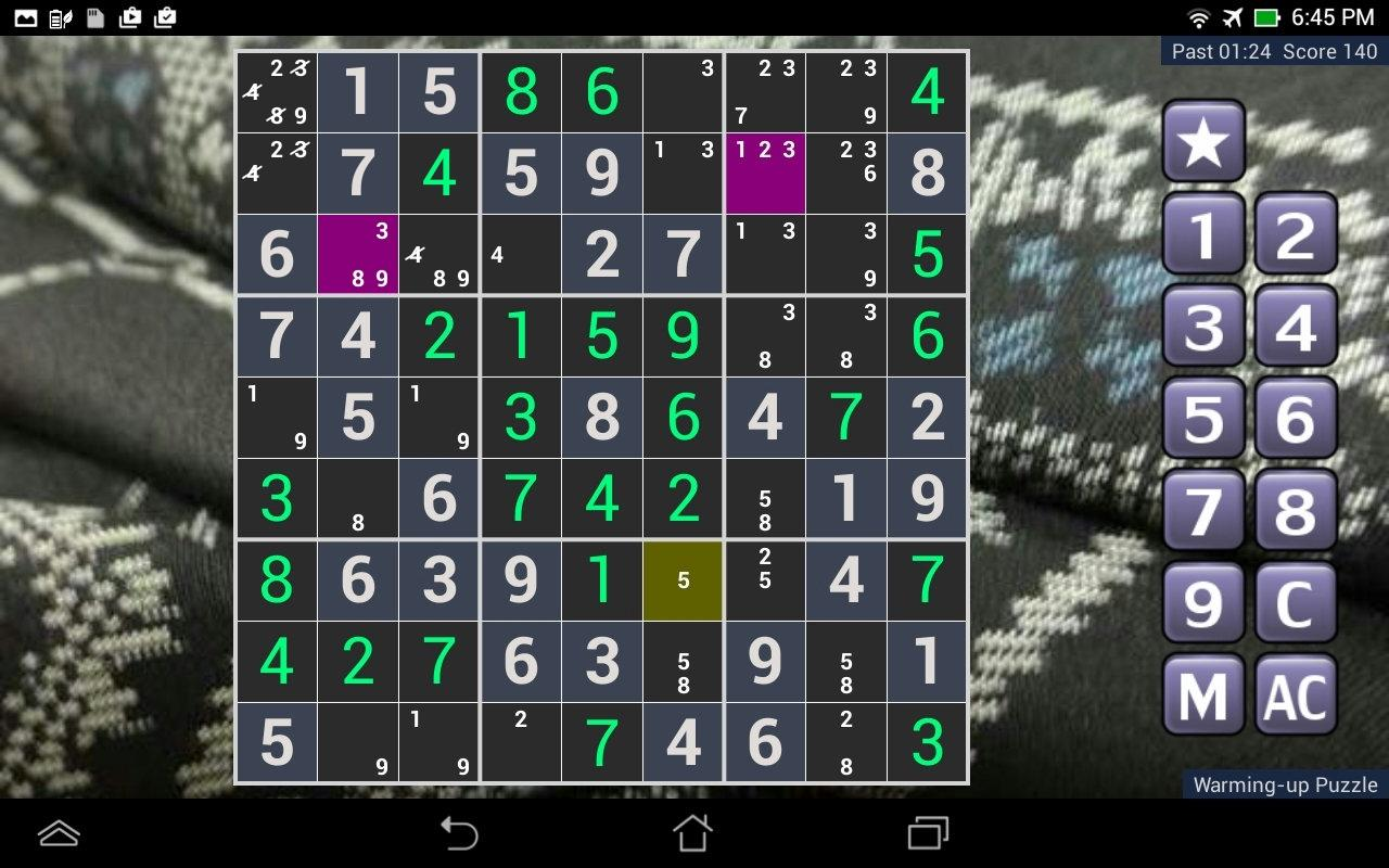 SUDOKU Extraordinary- screenshot
