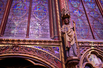 Photo: ... we'd never have know that the upper chapel was much more grandiose
