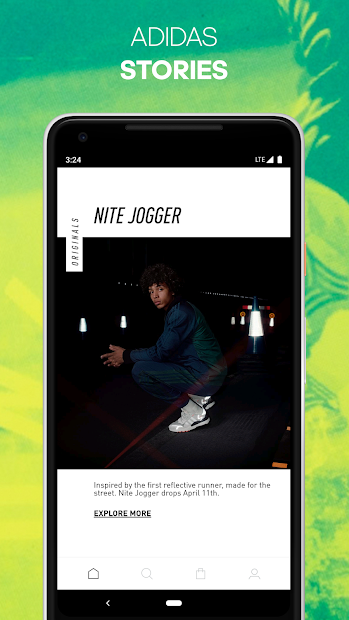 adidas Android App Screenshot