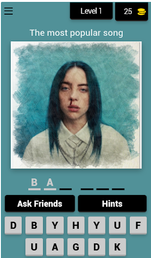 Guess the Billie Eilish Song android2mod screenshots 1