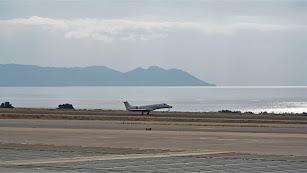 el Aeropuerto  de Almería fue inaugurado en 1968 en la zona de Los Albardinales.