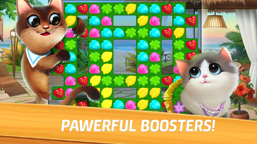 Meow Match: Cats Matching 3 Puzzle & Ball Blast apkpoly screenshots 15