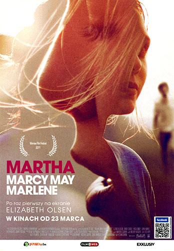 Przód ulotki filmu 'Martha Marcy May Marlene'