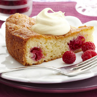 Raspberry and Coconut Teacake