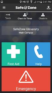 SafeZone - náhled