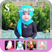 Hijab Cute Kids