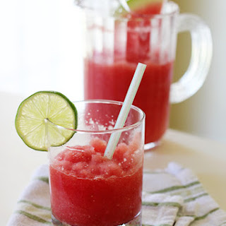 Watermelon Lime Frappe.
