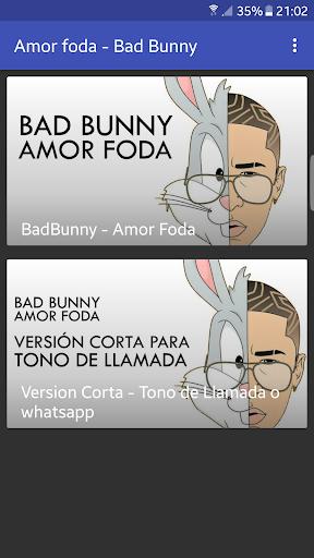 amorfoda bad bunny descargar