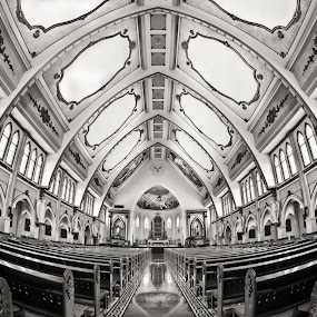 St. James Cathedral by Handi Laksono - Buildings & Architecture Other Interior ( st. james, cathedral, surabaya )