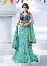 Photo: CODE: 6706 3 PCS Designer Lehenga Saree . Price : USD 136
