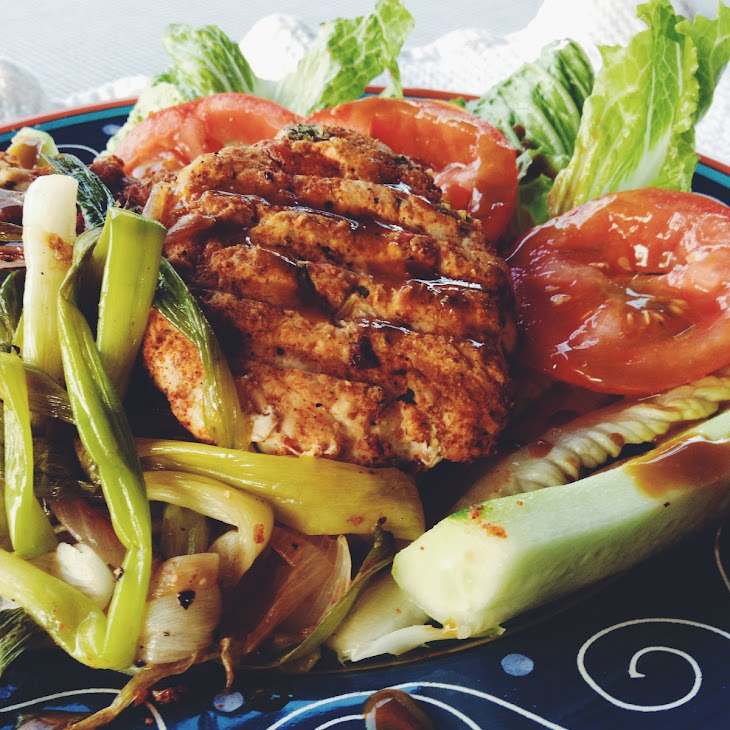 Chicken Burgers with Spiced Rub Recipe