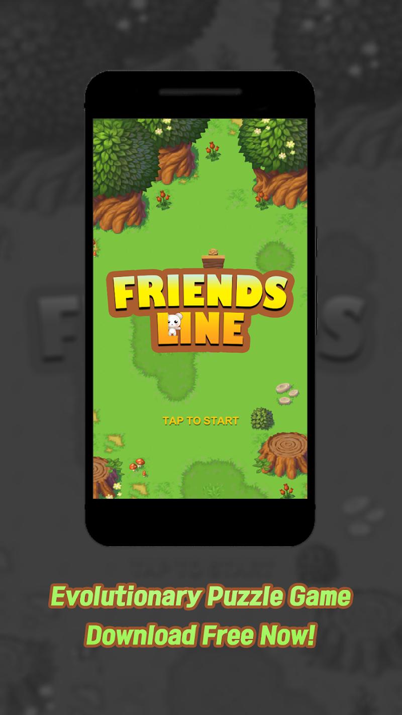Скриншот FriendsLine - Одна линия Puzzle