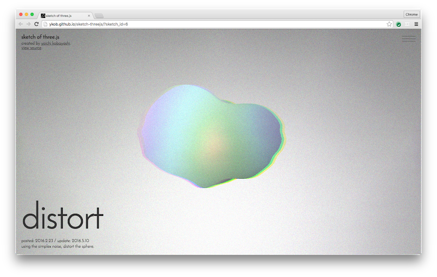 Distort by Yoichi Kobayashi | Experiments with Google